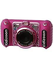 VTech - KidiZoom Duo DX - Digitale Speelgoedcamera - Nederlands Gesproken - Roze - Leeftijd: 4 - 10 Jaar