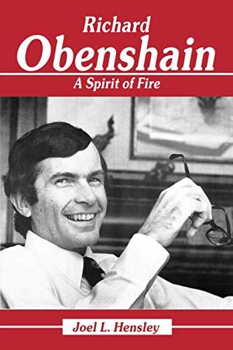 - Richard Obenshain: A Spirit of Fire