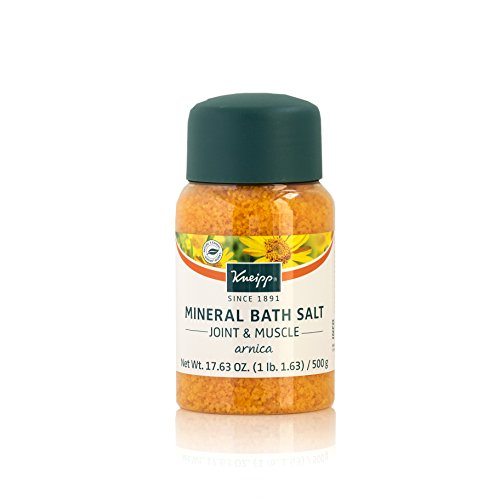 - Kneipp Arnica Mineral Bath Salts, Joint & Muscle 17.63 Ounces