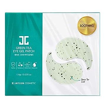 JAYJUN Green Tea Eye Gel Patch 2pc 10sheets 1.4g, 0.05 fl.oz.
