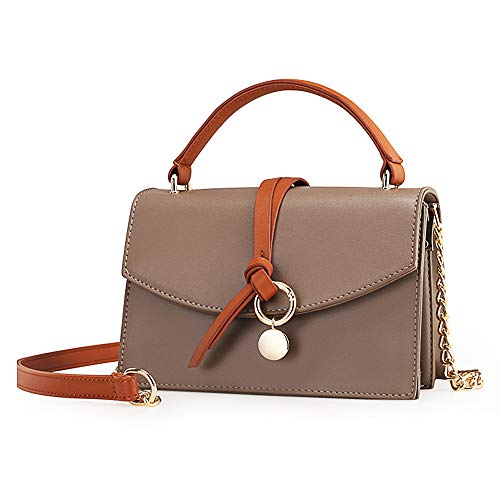 Small Leather Crossbody Purse Fashion Satchel Handbags Shoulder bags for Women Chain Strap