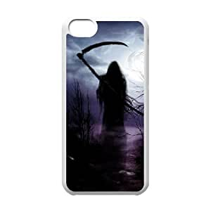 linJUN FENGProtection Cover Hard Case Of Grim Reaper Cell phone Case For iphone 4/4s