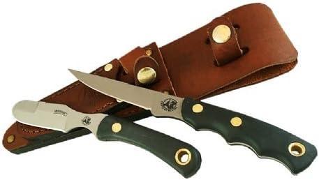 Knives Of Alaska SureGrip Jaeger Muskrat Knife Combo