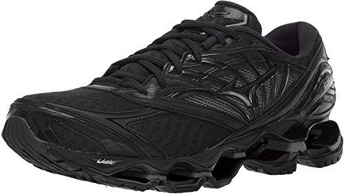 Mizuno Men's Wave Prophecy 8 Running Shoe, Black, 12 D US