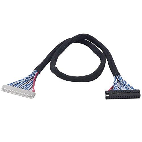 Fix-30P-S8 30 Pin bis 30 Pin 2-Kanal-8bits LVDS-Kabel für LCD-Panel Display