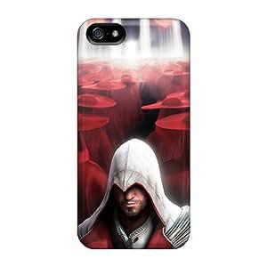 AlissaDubois Iphone 5/5s Best Hard Phone Case Custom Beautiful Assassins Creed Pictures [Ajl13290tqok]