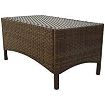 Panama Jack Outdoor St. Barths Rectangular Coffee Table