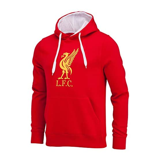 Liverpool Sweat Capuche LFC - Collection Officielle - Taille Homme