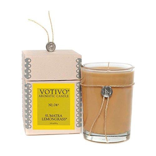 ean Wax Sumatra Lemongrass Scented Candle (Votivo Wax Candle)