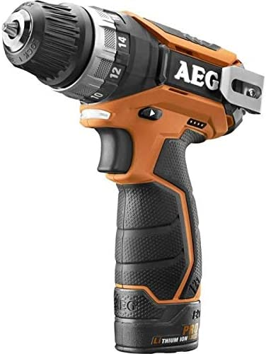 AEG BS12C2 LI-152B Negro, Naranja 1500 RPM - Destornillador (1500 RPM, Batería, Ión de litio, 1,1 kg)