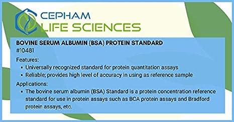 Bovine Serum Albumin (BSA) Standard [2 mg/ml] - 2 x 5 ml ...