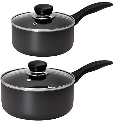 Utopia Kitchen Nonstick Saucepan Set