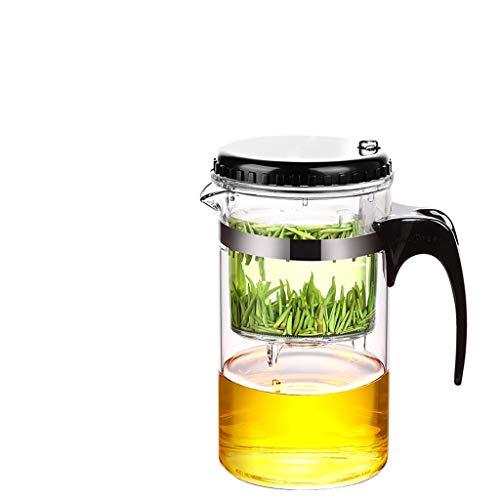 Glass Tea Set Elegant Cups Teapot High Temperature Tea Set Brewer Tea Household Kettle Tea Single Pot 500ml Tea Pots