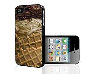 Ice Cream Vanilla Hard Snap On Case (iPhone 4/4s)