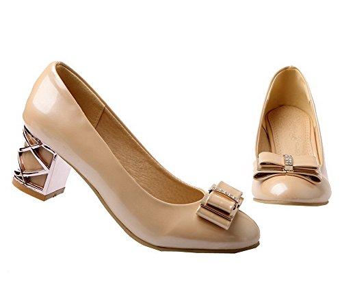 Kitten Da Unita heels A Voguezone009 Donna Tinta Spillo Tacco 71ctwq0