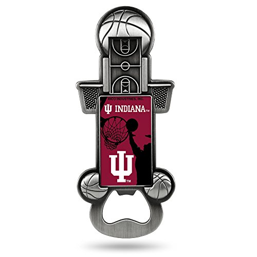Hoosiers Metal Indiana (Rico Industries NCAA Indiana Hoosiers Magnetic Metal Bottle Opener Party Starter)