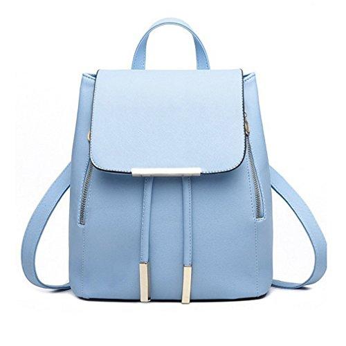 (Backpack Women Pu Leather Female Backpacks Teenager School Bags Mochila Feminina Rucksack Mochilas Mujer as pic show1 12 Inches)