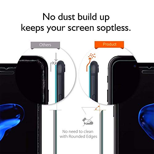 【3-Pack】iPhone 8 Plus/7 Plus/6 Plus Screen Protector [5.5''inch], HD Tempered Glass,Anti-Scratches,Anti-Fingerprint, Case Friendly Screen Protector for Apple iPhone 8 Plus/7 Plus/6 Plus by TangDirect (Image #3)
