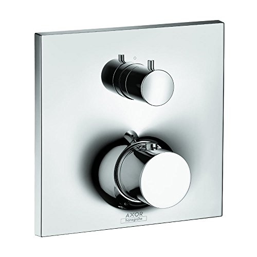 AXOR 18750001 Massaud Thermostatic Trim with Volume Control and Diverter, Chrome (Control Massaud Volume)