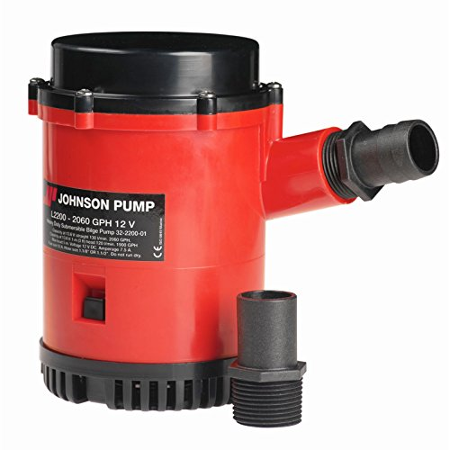 Johnson Pumps 22004 2200 GPH Bilge Pump by Johnson Pumps