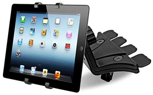 Universal Adjustable Tablet Mount for Car in Cd Slot 7-10.5 inch ipad Holder Samsung Galaxy Stand by SWISS PART