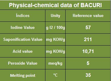 Bacuri Butter (8 Oz) - 100% Natural - Sustainable Product