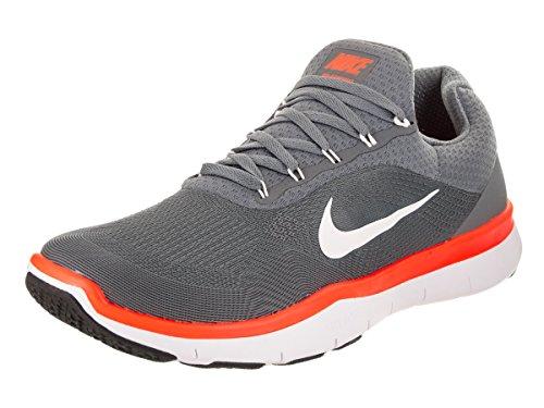 Nike Free Trainer V7Zapatillas Zapatillas zapatos para hombre Blanco-Gris-Naranja