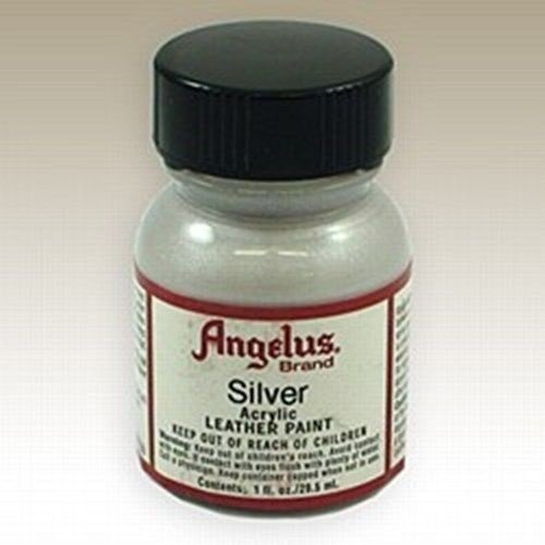 Angelus Acrylic Paints Color Silver