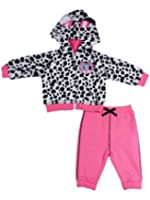 Disney Infant Girls 2 Piece 101 Dalmations Puppy Dog Jacket & Pants Baby Hoodie
