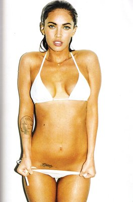 Megan Fox 24X36 Broadsheet NEW!!!!!!! #54