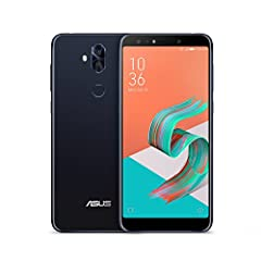 """Equipped with a 6"""" FHD screen, large capacity 3300mAh battery, and an industry-best 4 cameras packed into a sleek glass body, the ASUS ZenFone 5Q is the ultimate lifestyle phone and perfect balance between performance and efficiency."""