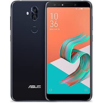 "ASUS ZenFone 5Q (ZC600KL-S630-4G-64G-BK) - 6"" FHD 2160x1080 display - Quad-camera - 4GB RAM - 64GB storage - LTE Unlocked Dual SIM Cell Phone - US Warranty - Black"