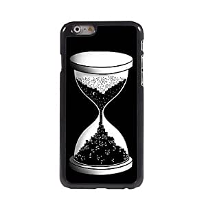 LZX Night Design Sand Glass Pattern Aluminum Hard Case for iPhone 6