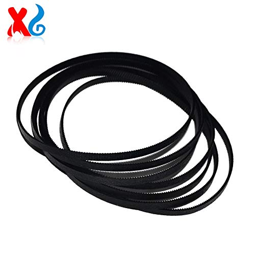 Printer Parts 10X Re-Manufactured 7110 7610 Short Carriage Tracking Feeding Belt Replacement for HP Officejet 7110 7610 7612 6700 CM751-40275