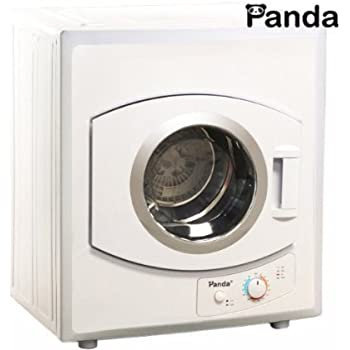Amazon.com: Panda 2.65 cu.ft Compact Laundry Dryer, White: Appliances