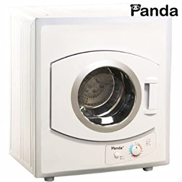 Panda Portable Dryer 2.65 Cu.ft/8.8lbs 110v Compact Apartment Size  Stainless Steel