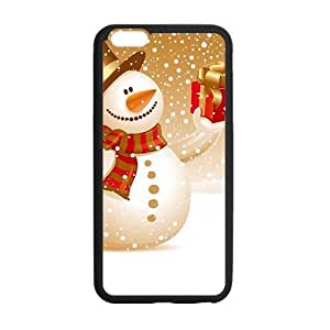 Christmas happy snow man Phone Case for Iphone 6