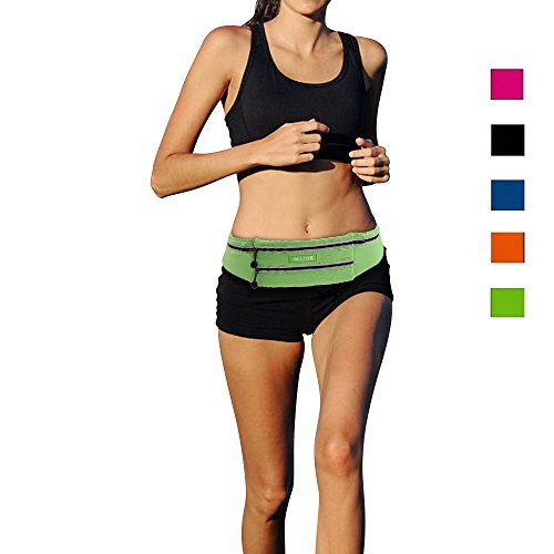 MILIDE Running Belt Waist pack for iphone x 8 7 plus With...