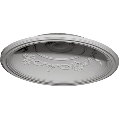 Ekena Millwork DOME35CH 35-Inch OD x 27 7/8-Inch ID x 5 5/8-Inch Chesterfield Recessed Mount Ceiling Dome by Ekena Millwork [並行輸入品] B018A2ZA22