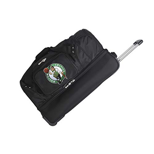 NBA Boston Celtics Rolling Drop-Bottom Duffel Bag, 27-inches