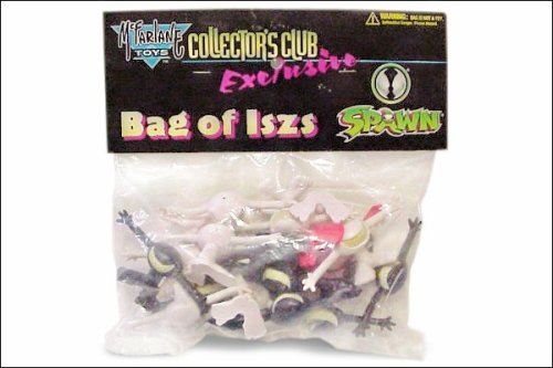 1996 Spawn Collectors Club Exclusive Bag of Iszs from Sam Kirths The Maxx McFarlane Toys