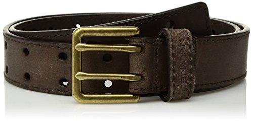 Carhartt Boys' Big Double Perf Belt, Dark Brown, 22/24