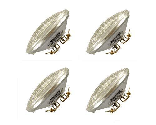 VSTAR LED PAR36 Bulb 6W 650-750lm(35W Halogen Equivalent),3000K Warm White,Water Resistant,Non-dimmable,4 Pack [並行輸入品] B07R7WR3RZ