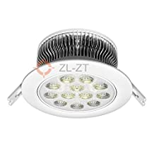 18Watts LED(12pcs) InfraRed (850nm or 940nm) Embedded Ceiling Lamp (35 Degree Beam Anlge) without High Frequency Twinkle for Golf Simulator Movement Track Capture Lighting