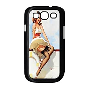 Fashion pin up girl Personalized samsung galaxy S3 I9300 Case Cover