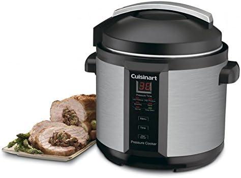 Cuisinart CPC-600 6 Quart 1000 Watt Electric Pressure Cooker (Stainless Steel) Size:6-Quart