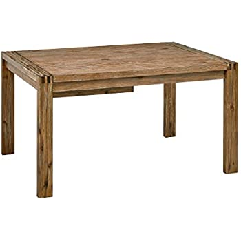 Amazon Com Ink Ivy Dining Table Zen Reclaimed Brown Tables