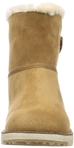 Oliver Women's Boots Unlined s Brown on Length Nut 440 Braun Slip Short 26412 TnwFwxS