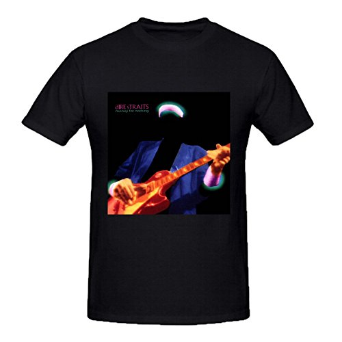 Dire Straits Money For Nothing Funny Sayings O Neck t Shirts For Men