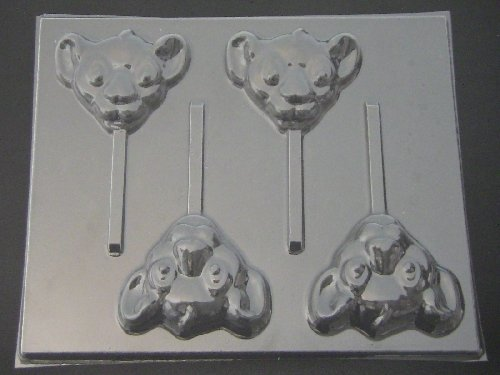 Simbo Face Chocolate Candy Lollipop Mold